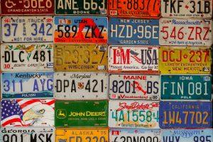 Autokennzeichen sammeln