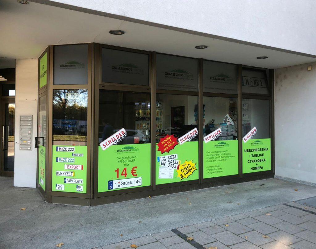 Kfz-Zulassung im Zulassungscenter München
