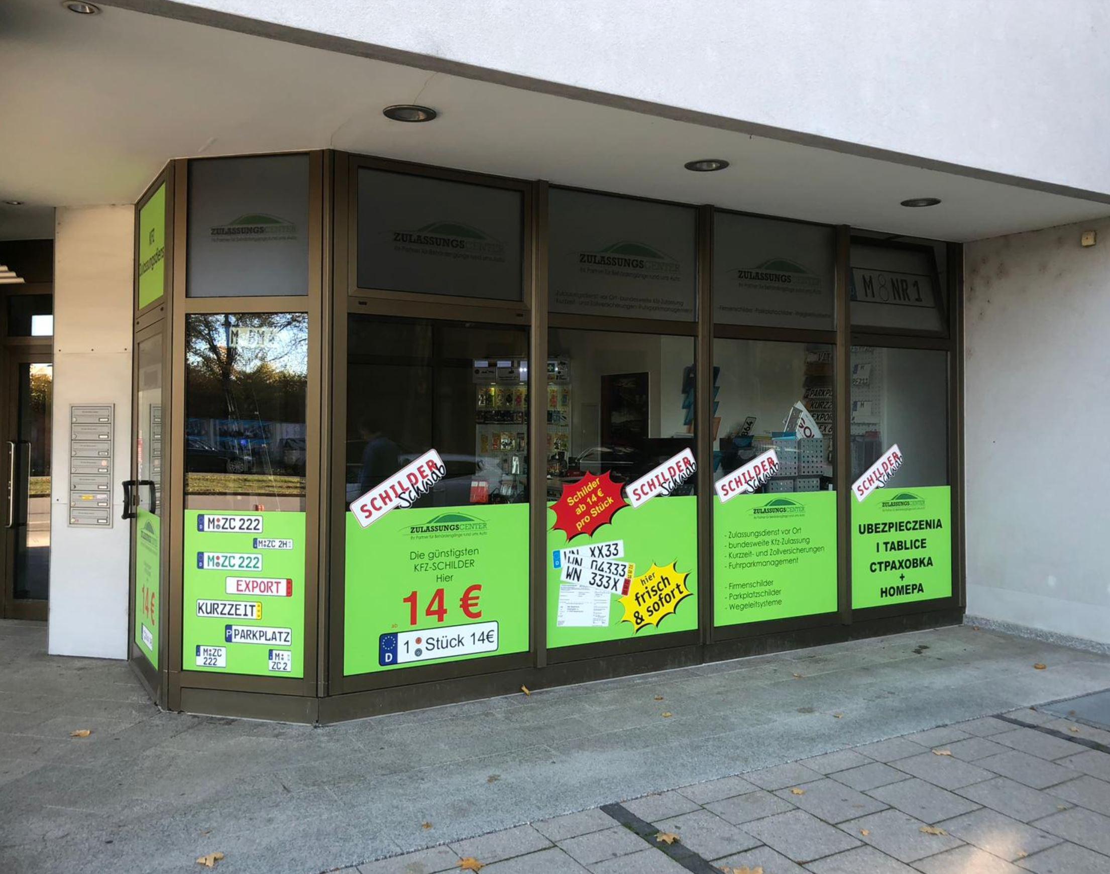Kfz- Zulassung im Zulassungscenter München